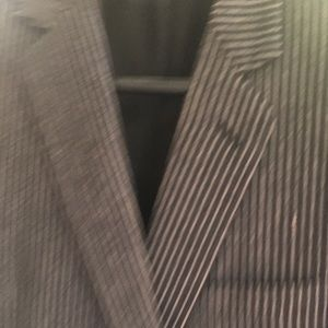 Dior Sports Jacket. Pinstripe Brown Wool 2 Button